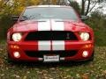 2007 Torch Red Ford Mustang Shelby GT500 Coupe  photo #19