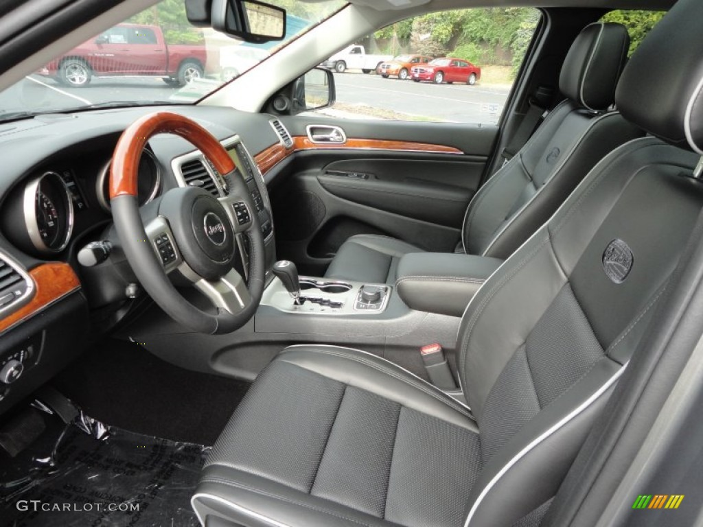 2012 jeep grand cherokee overland 4x4 interior photo 55599214. Black Bedroom Furniture Sets. Home Design Ideas