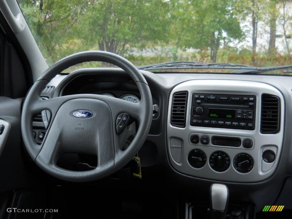 2007 Ford Escape Xlt 4wd Medium Dark Flint Dashboard Photo