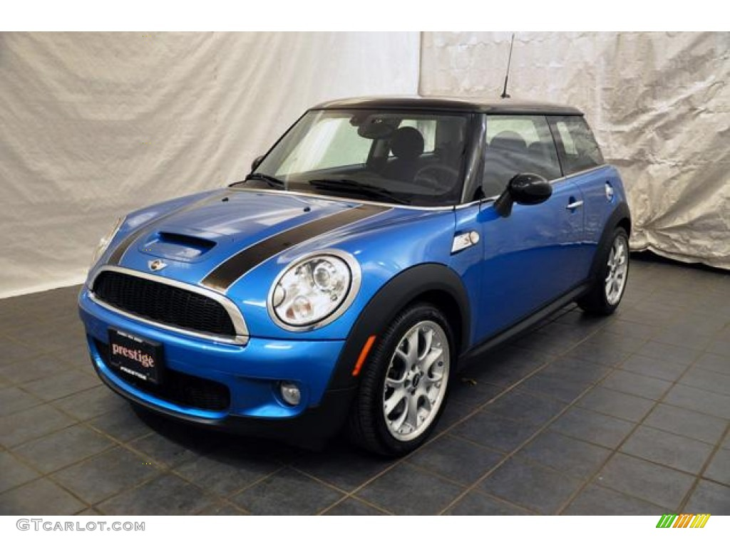 2007 laser blue metallic mini cooper s hardtop 55592906 car color galleries. Black Bedroom Furniture Sets. Home Design Ideas