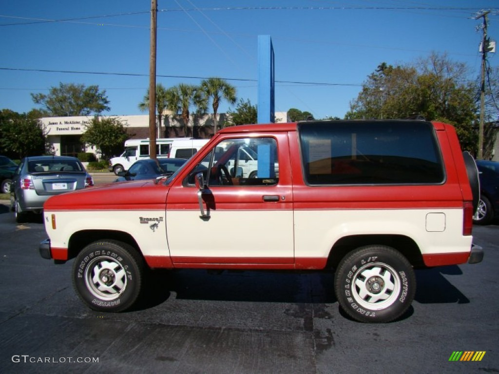 medium dark fire red 1986 ford bronco ii xlt 4x4 exterior. Black Bedroom Furniture Sets. Home Design Ideas