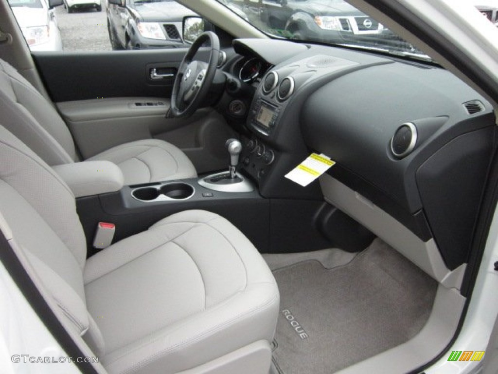 Gray Interior 2012 Nissan Rogue SL AWD Photo #55609408 | GTCarLot.com