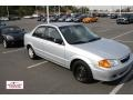Highlight Silver Metallic 2000 Mazda Protege DX