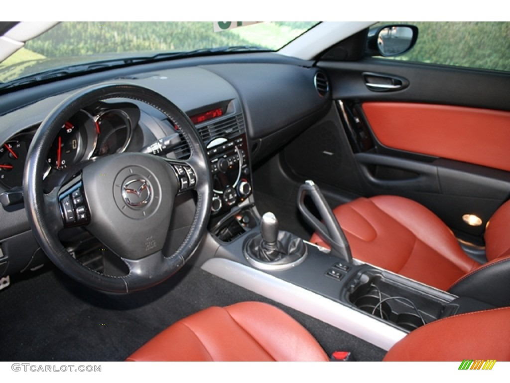 cosmo red interior 2008 mazda rx-8 40th anniversary edition photo
