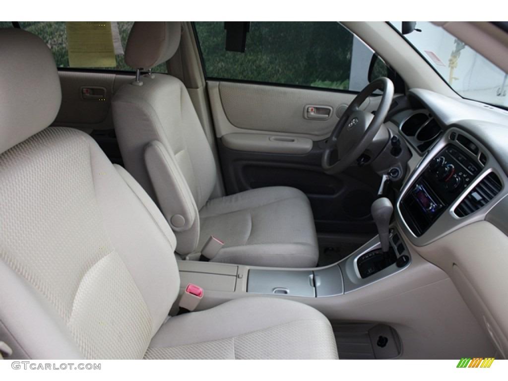 2004 Black Toyota Highlander 4wd 55592858 Photo 9 Car Color Galleries