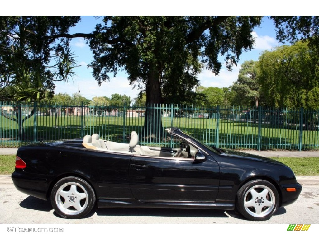 black 2000 mercedes benz clk 430 cabriolet exterior photo. Black Bedroom Furniture Sets. Home Design Ideas
