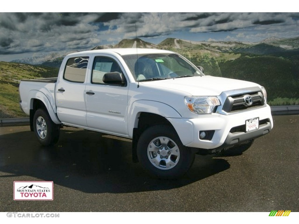 2013 Tacoma V6 Sr5 Double Cab 4x4 Black Graphite Photo 2