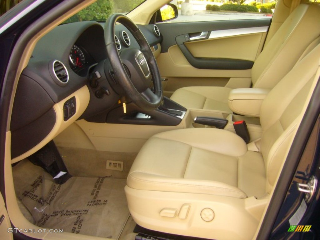 beige interior 2006 audi a3 2 0t photo 55619868. Black Bedroom Furniture Sets. Home Design Ideas