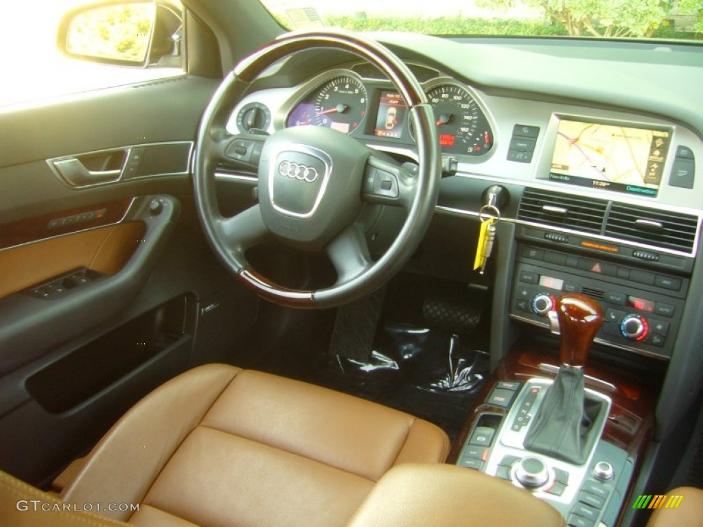 amaretto interior 2007 audi a6 3 2 quattro sedan photo. Black Bedroom Furniture Sets. Home Design Ideas