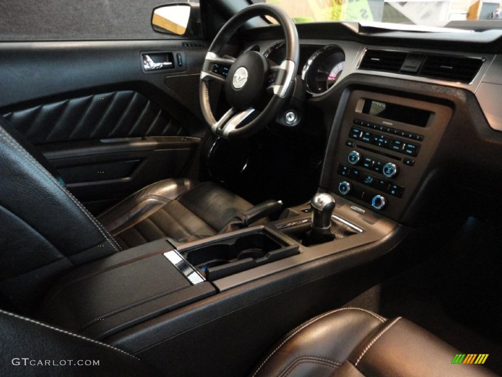 2010 sterling grey metallic ford mustang gt premium coupe 55622037 photo 16. Black Bedroom Furniture Sets. Home Design Ideas