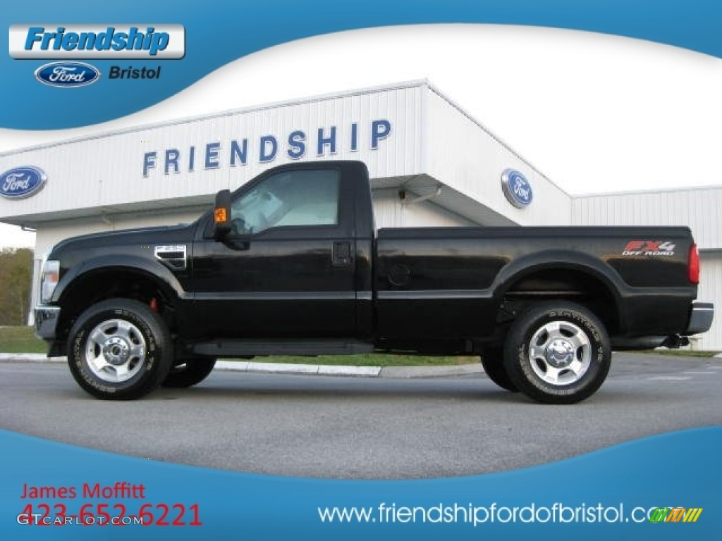 2010 Black Ford F250 Super Duty Fx4 Regular Cab 4x4