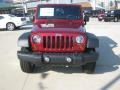2012 Deep Cherry Red Crystal Pearl Jeep Wrangler Sport S 4x4  photo #8