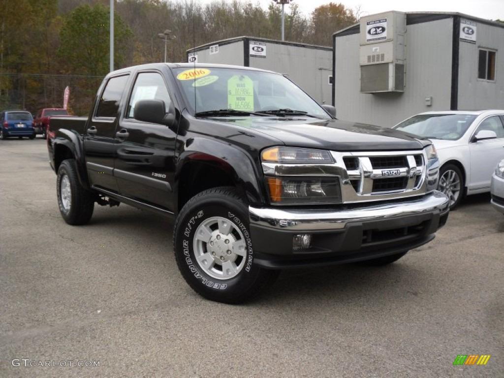 2006 i series truck i 350 ls crew cab 4x4 onyx black