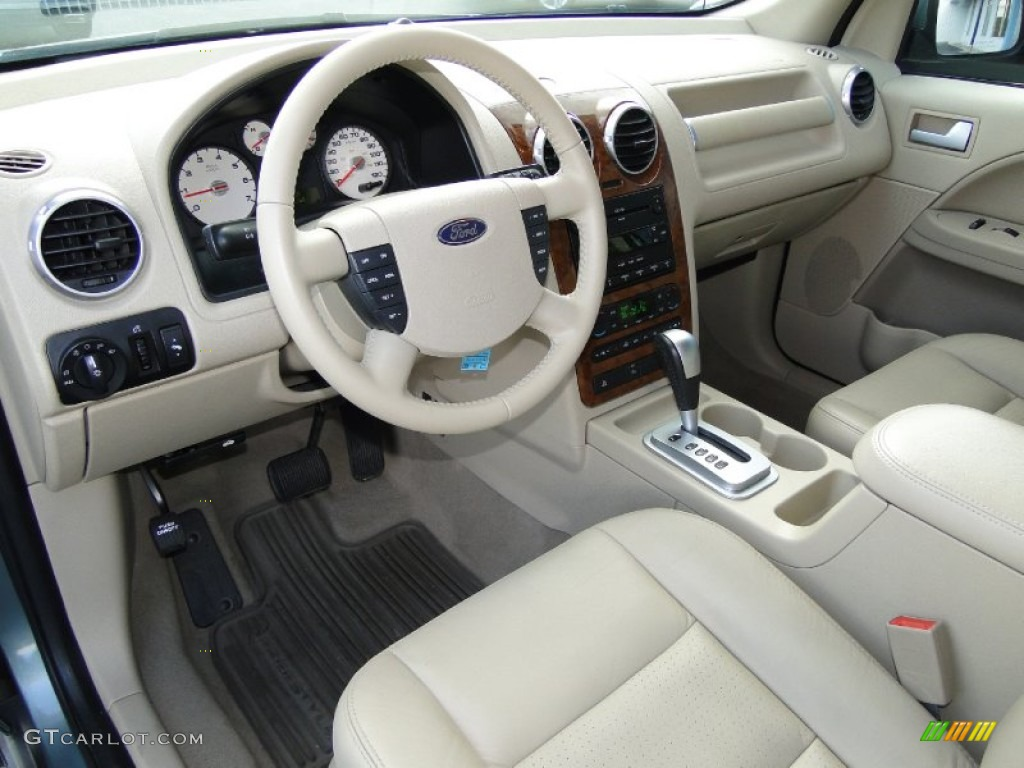 Pebble Beige Interior 2006 Ford Freestyle Limited Photo 55641569