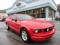 2007 Torch Red Ford Mustang V6 Premium Coupe  photo #1