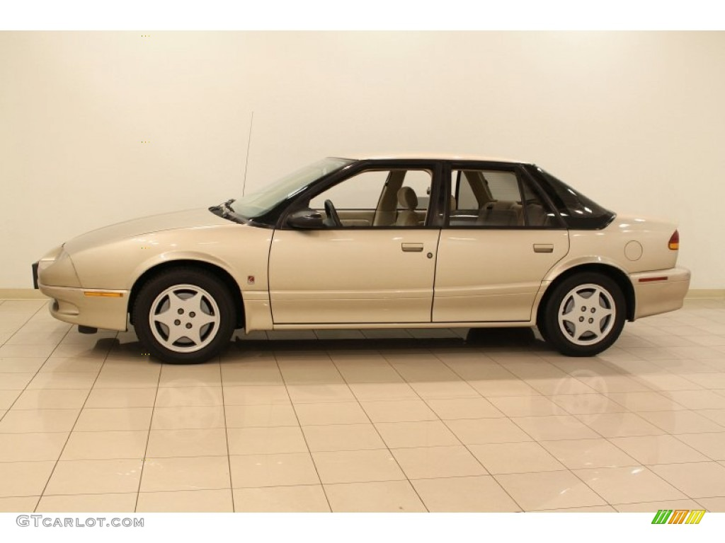 Gold 1994 saturn s series sl2 sedan exterior photo 55658619