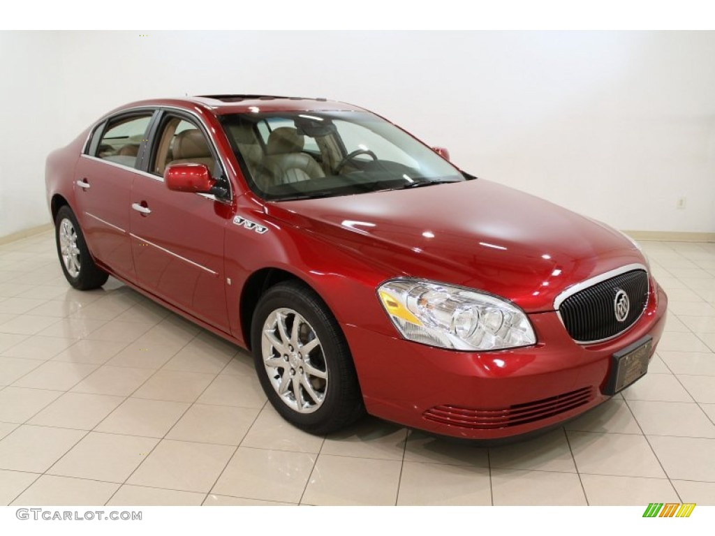 2008 crystal red tintcoat buick lucerne cxl 55658330. Black Bedroom Furniture Sets. Home Design Ideas