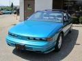 Bright Aqua Blue Metallic - Cutlass Supreme Convertible Photo No. 3