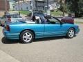 1993 Cutlass Supreme Convertible Bright Aqua Blue Metallic