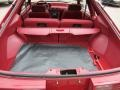 Scarlet Red Trunk Photo for 1992 Ford Mustang #55674030