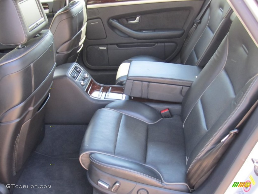 Black Interior 2006 Audi A8 L W12 quattro Photo #55675825 | GTCarLot.com