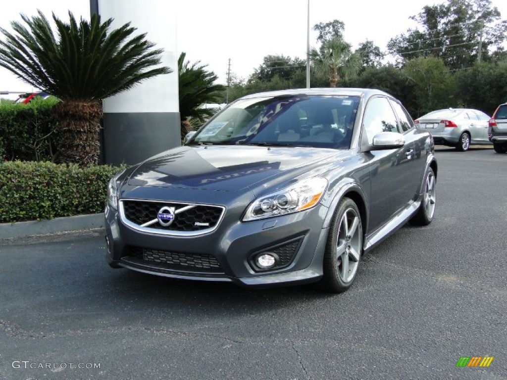 2012 titanium grey metallic volvo c30 t5 r design. Black Bedroom Furniture Sets. Home Design Ideas