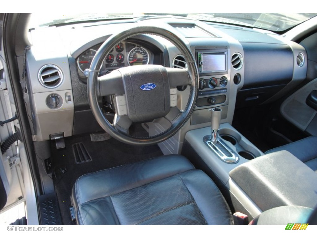Black Interior 2004 Ford F150 Fx4 Supercab 4x4 Photo 55677540