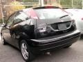 2005 Pitch Black Ford Focus ZX3 SES Coupe  photo #3