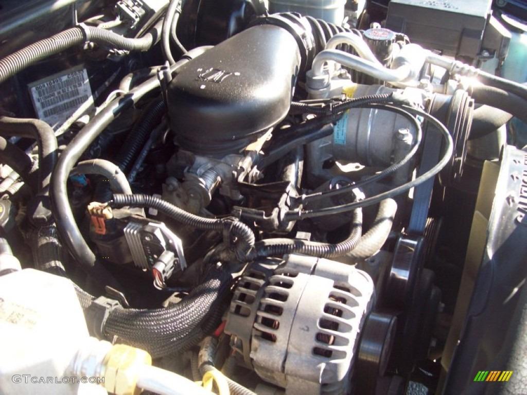 2001 chevrolet s10 ls extended cab 4 3 liter ohv 12