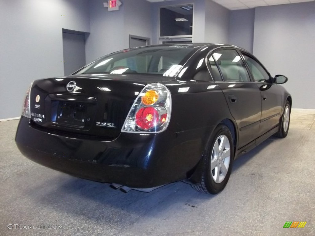 2003 super black nissan altima 2 5 sl 55658385 photo 7 car color galleries. Black Bedroom Furniture Sets. Home Design Ideas