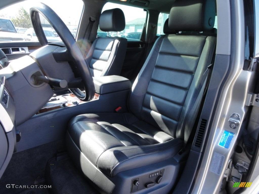 Anthracite Interior 2004 Volkswagen Touareg V8 Photo 55692058