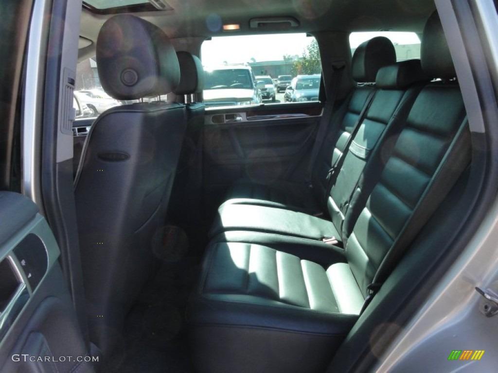 Anthracite Interior 2004 Volkswagen Touareg V8 Photo 55692133