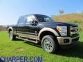 2012 Black Ford F250 Super Duty King Ranch Crew Cab 4x4  photo #1