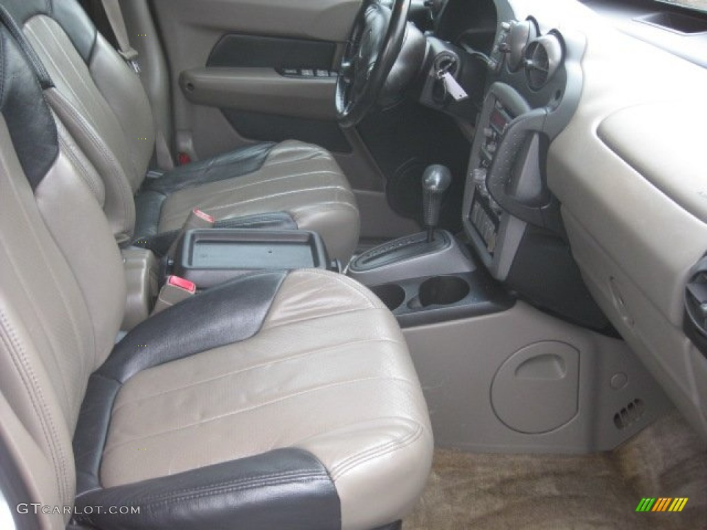 dark taupe interior 2004 pontiac aztek awd photo 55699739. Black Bedroom Furniture Sets. Home Design Ideas