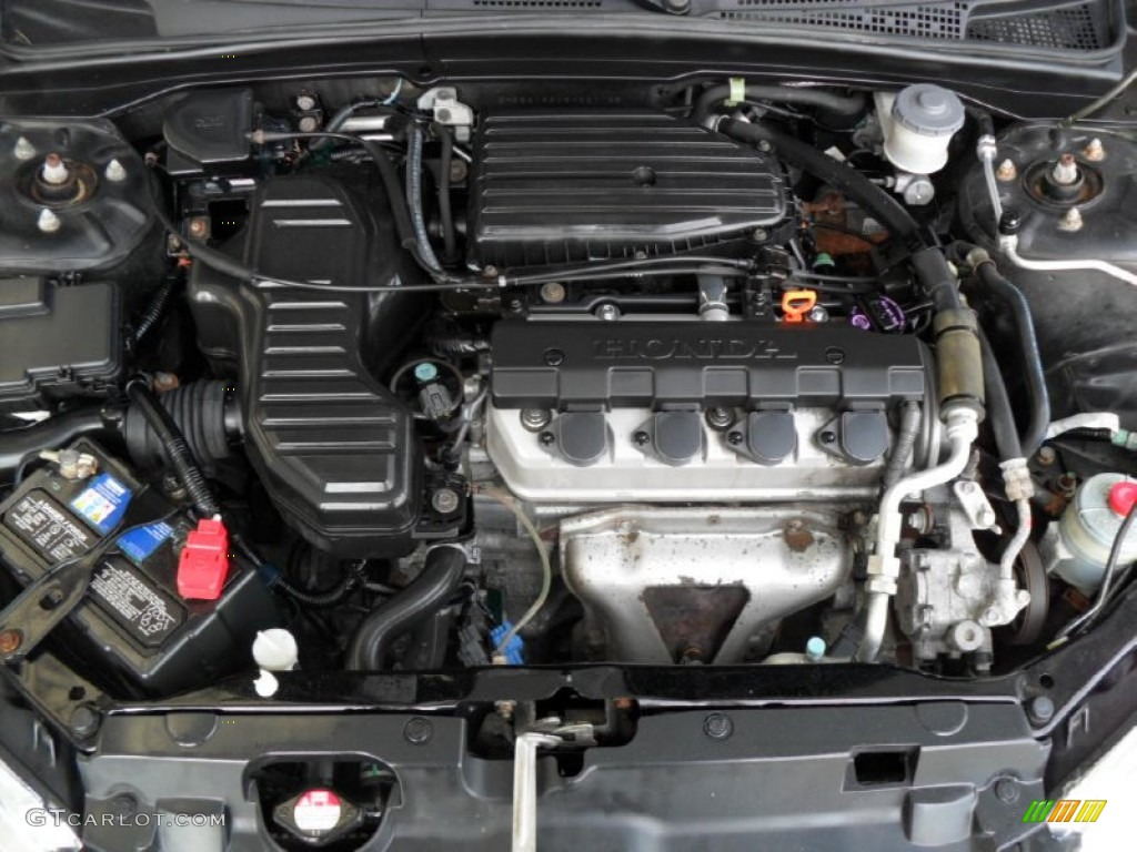 2005 honda civic lx sedan 1 7l sohc 16v vtec 4 cylinder. Black Bedroom Furniture Sets. Home Design Ideas