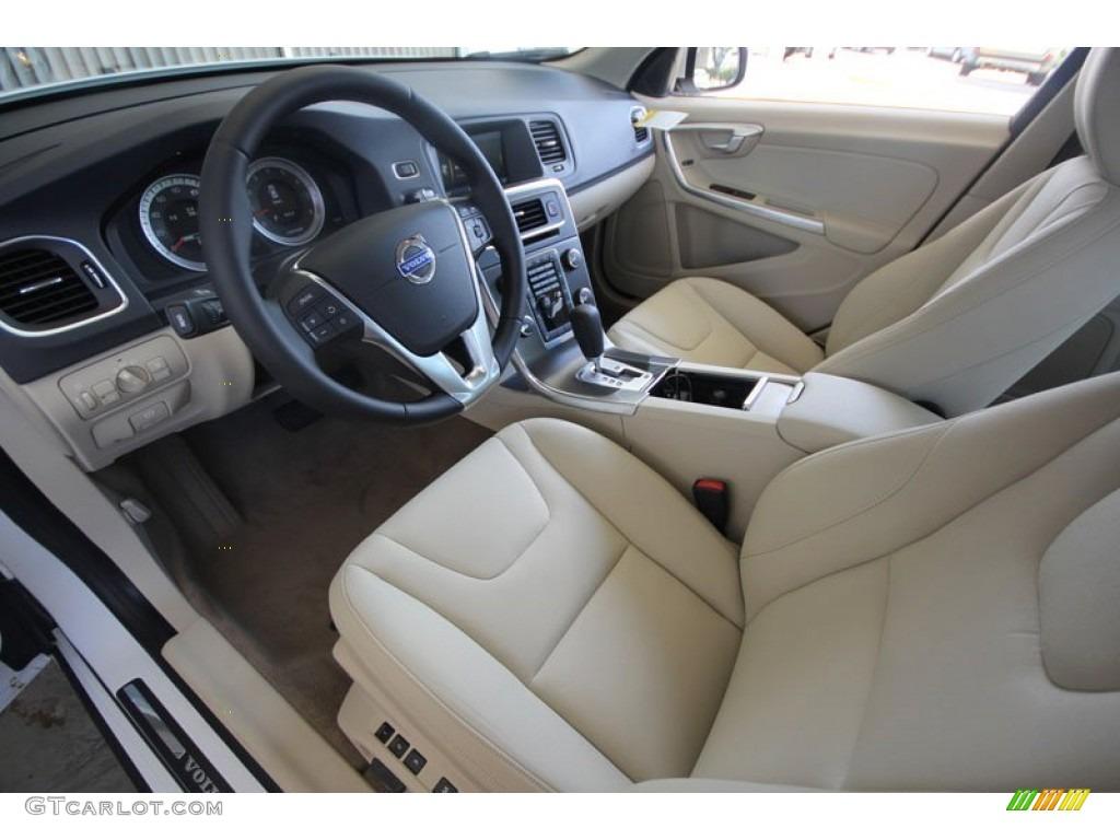 Soft Beige Interior 2012 Volvo S60 T5 Photo 55710361
