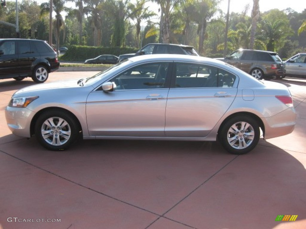 Alabaster Silver Metallic 2010 Honda Accord Lx P Sedan
