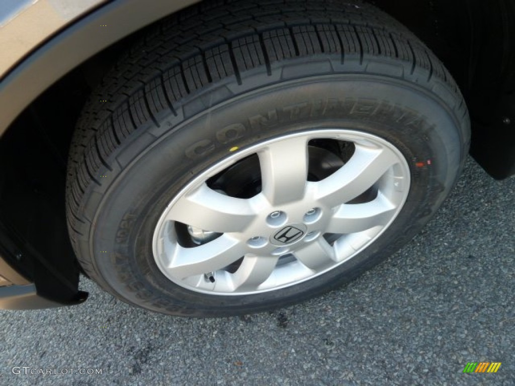 2011 CR-V SE 4WD - Urban Titanium Metallic / Black photo #9