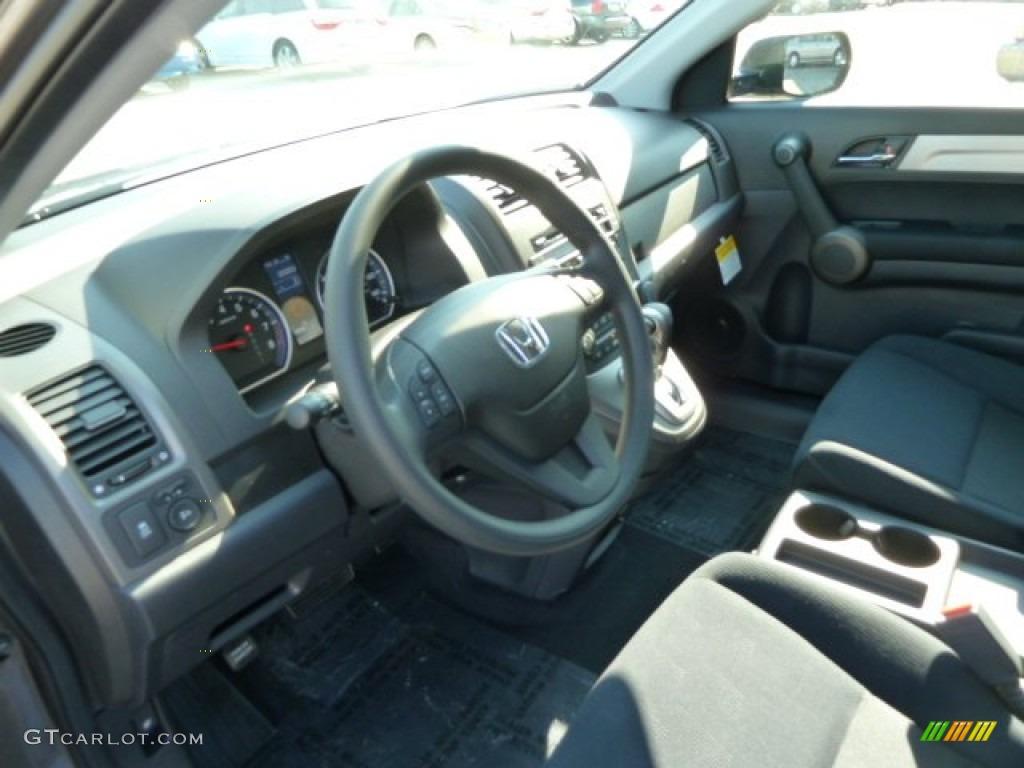 2011 CR-V SE 4WD - Urban Titanium Metallic / Black photo #15