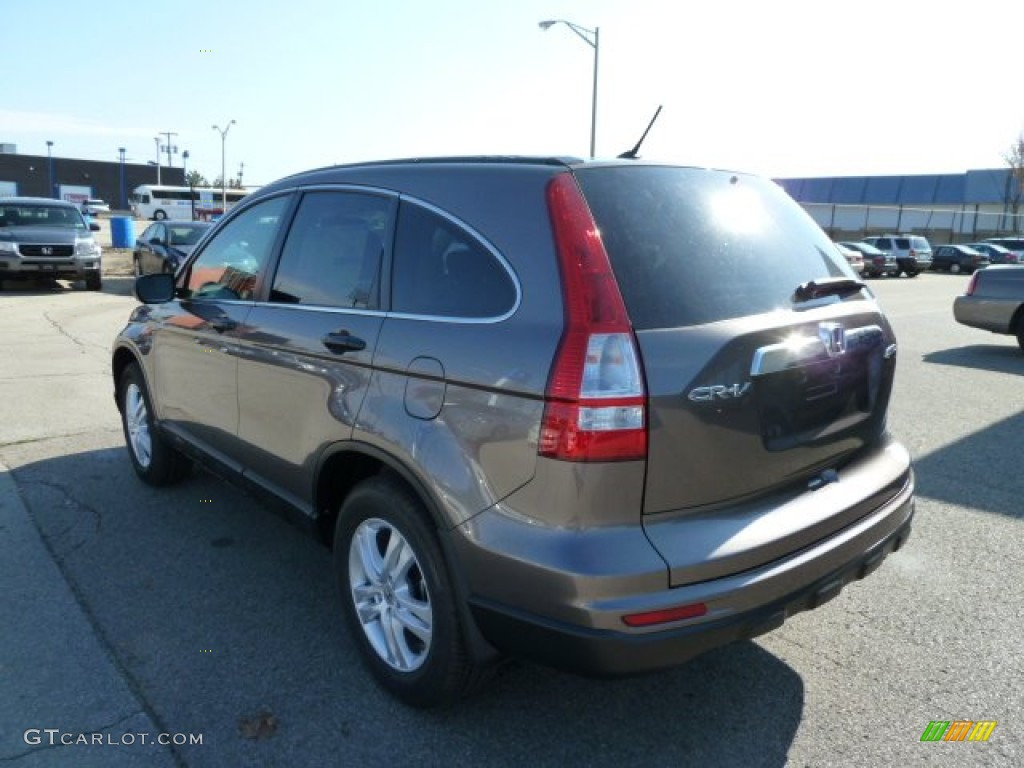 2011 CR-V EX 4WD - Urban Titanium Metallic / Black photo #3