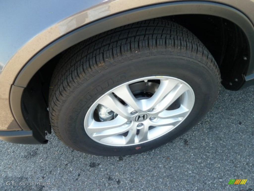 2011 CR-V EX 4WD - Urban Titanium Metallic / Black photo #9
