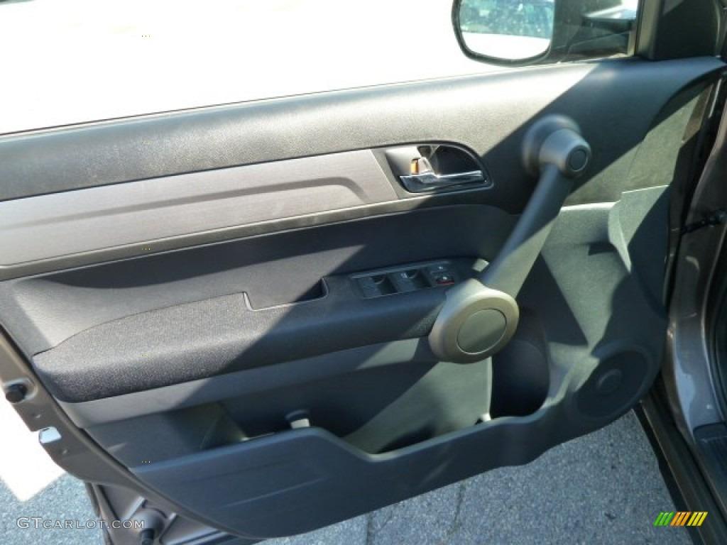 2011 CR-V EX 4WD - Urban Titanium Metallic / Black photo #14