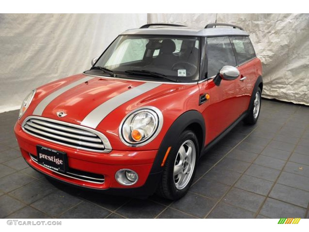 2009 Chili Red Mini Cooper Clubman 55708969 Photo 2 Gtcarlotcom