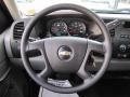 Dark Titanium Steering Wheel Photo for 2010 Chevrolet Silverado 1500 #55743363