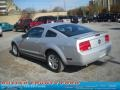 2007 Satin Silver Metallic Ford Mustang V6 Deluxe Coupe  photo #4