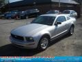 2007 Satin Silver Metallic Ford Mustang V6 Deluxe Coupe  photo #15