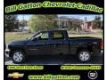 2012 Black Chevrolet Silverado 1500 LT Crew Cab 4x4  photo #1