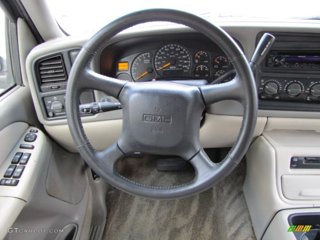 2001 gmc yukon xl slt neutral tan shale steering wheel. Black Bedroom Furniture Sets. Home Design Ideas