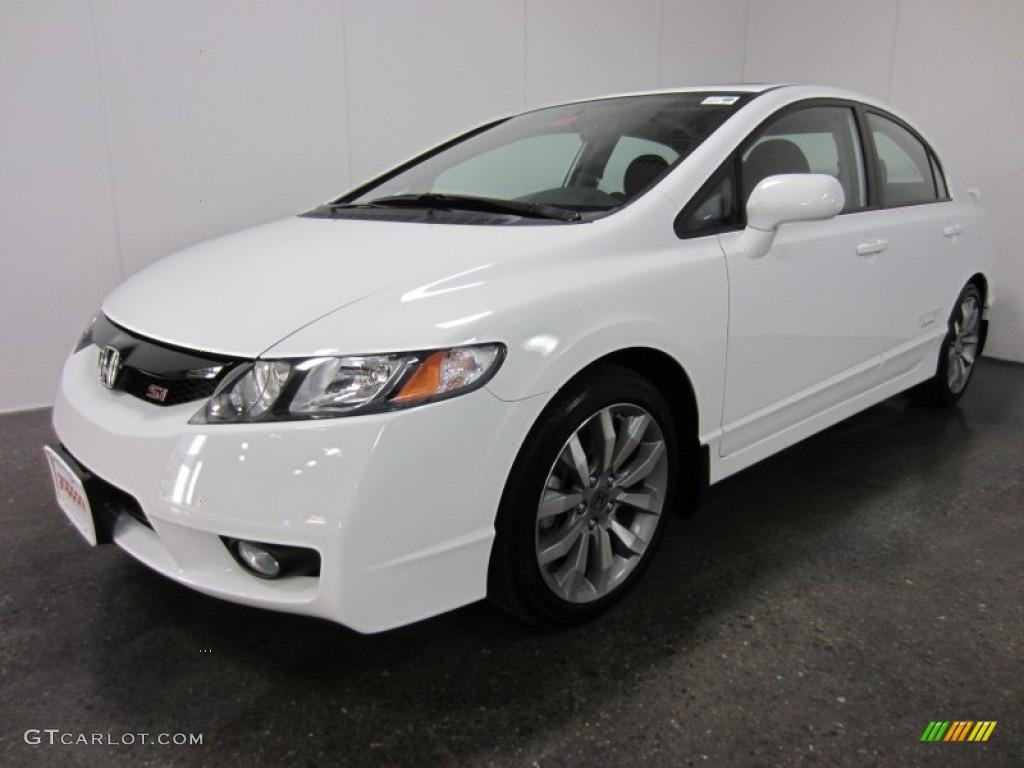 2011 taffeta white honda civic si sedan 55756882 for Honda civic si white