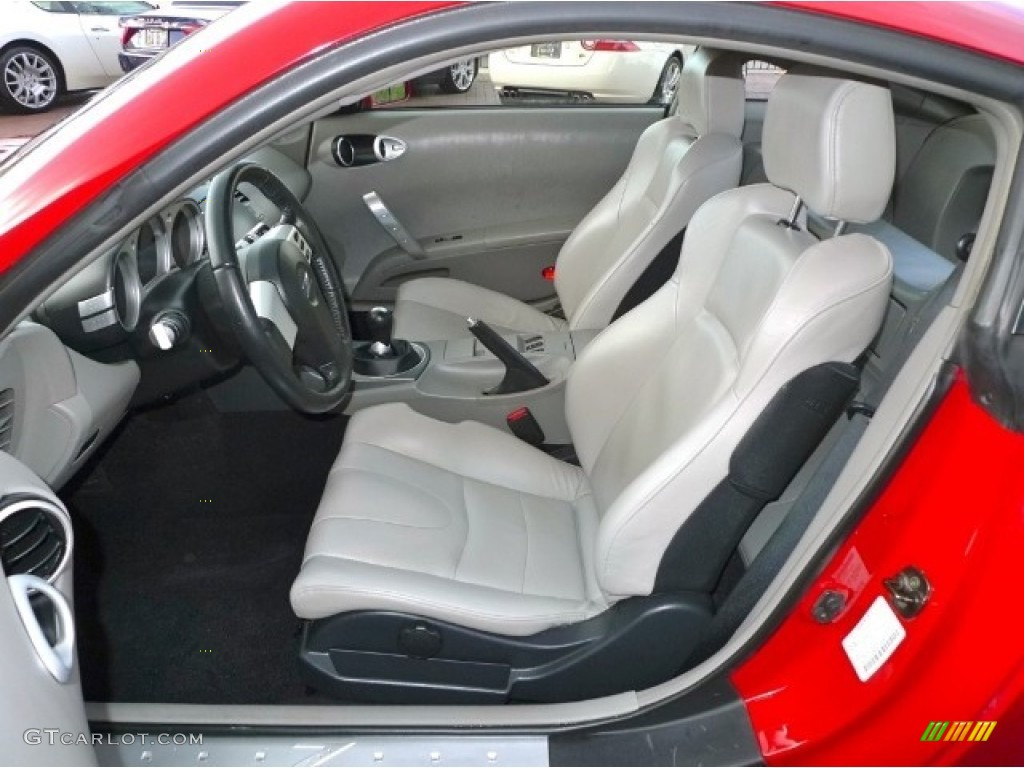 Frost Interior 2003 Nissan 350z Touring Coupe Photo